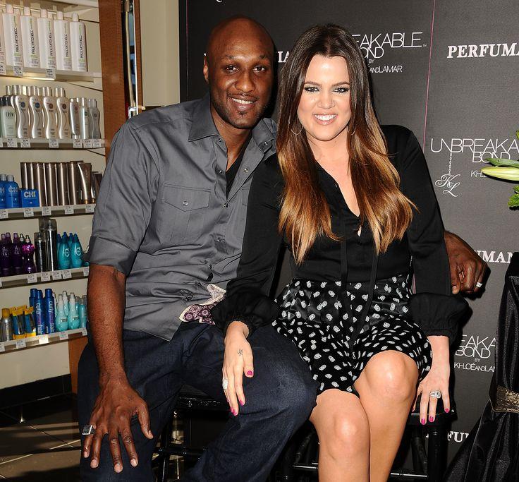 ORANGE, CA - JUNE 07:  Lamar Odom and Khloe Kardashian make a personal appearance for 'Unbreakable Bond' at Perfumania on June 7, 2012 in Orange, California.  (Photo by Jason LaVeris/FilmMagic) via @AOL_Lifestyle Read more: https://www.aol.com/article/entertainment/2017/03/29/lamar-odom-cheated-on-khloe-kardashian/22017200/?a_dgi=aolshare_pinterest#fullscreen