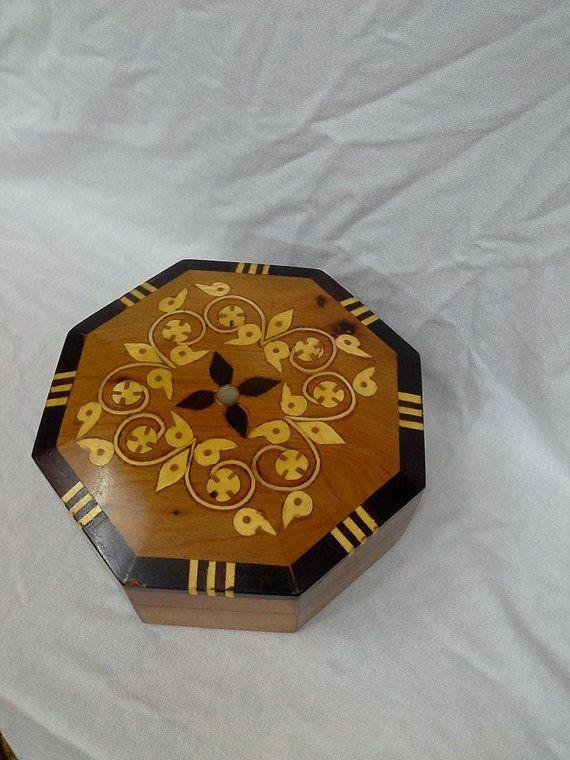 HexagoBox thuja wood box by BlanketThuyaWood on Etsy