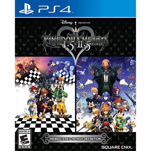 Relive some unforgettable Kingdom Hearts adventures with the Kingdom Hearts HD 1.5 + 2.5 Remix for PS4. This essential collection features 6 Kingdom Hearts titles, including Kingdom Hearts 358/2 Days with HD remastered cinematics,... Free shipping on orders over $35.