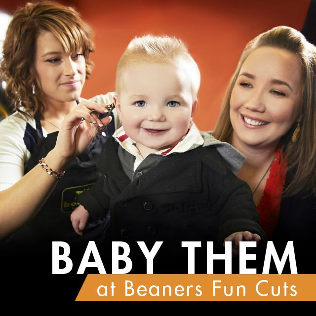 Bring them in for baby's 1st haircut!