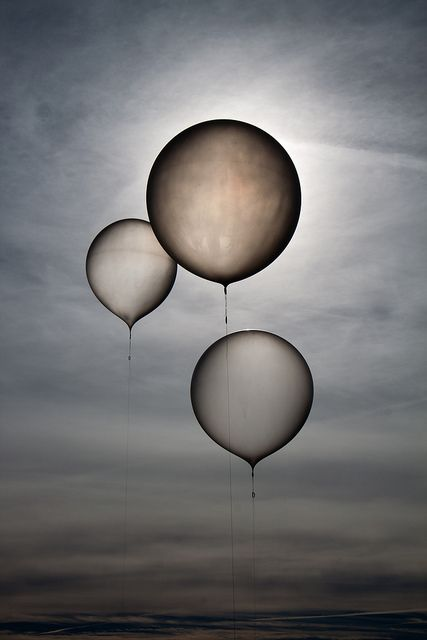 Waiting Balloons by lacomj, via Flickr