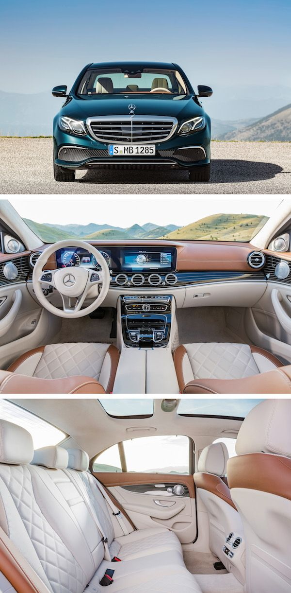 Distinct, emotive design, exclusive interior and an impressive number of innovations: Mercedes-Benz is taking a big step into the future with the new Mercedes-Benz E-Class.
