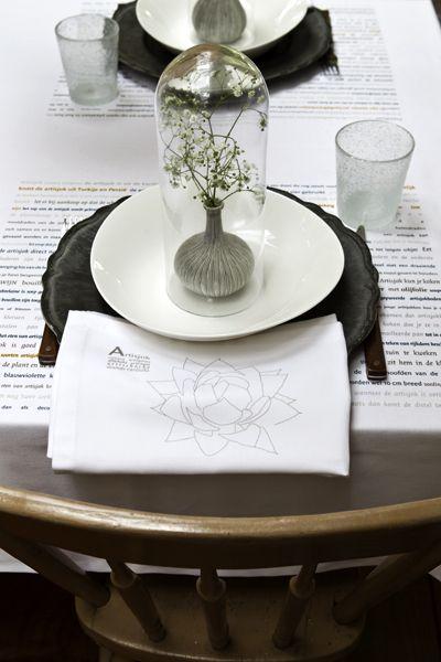 lekker eten, mooi tafelen