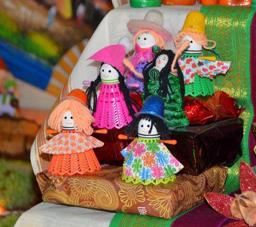 Dolls Made From Shuttlecocks