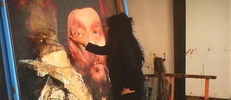 KIJK TIP #NPO2 19:15 uur - Close UP - #Kunstenares #LitaCabellut - Levensgrote portretten van BN'ers in kleding gouden eeuw! 