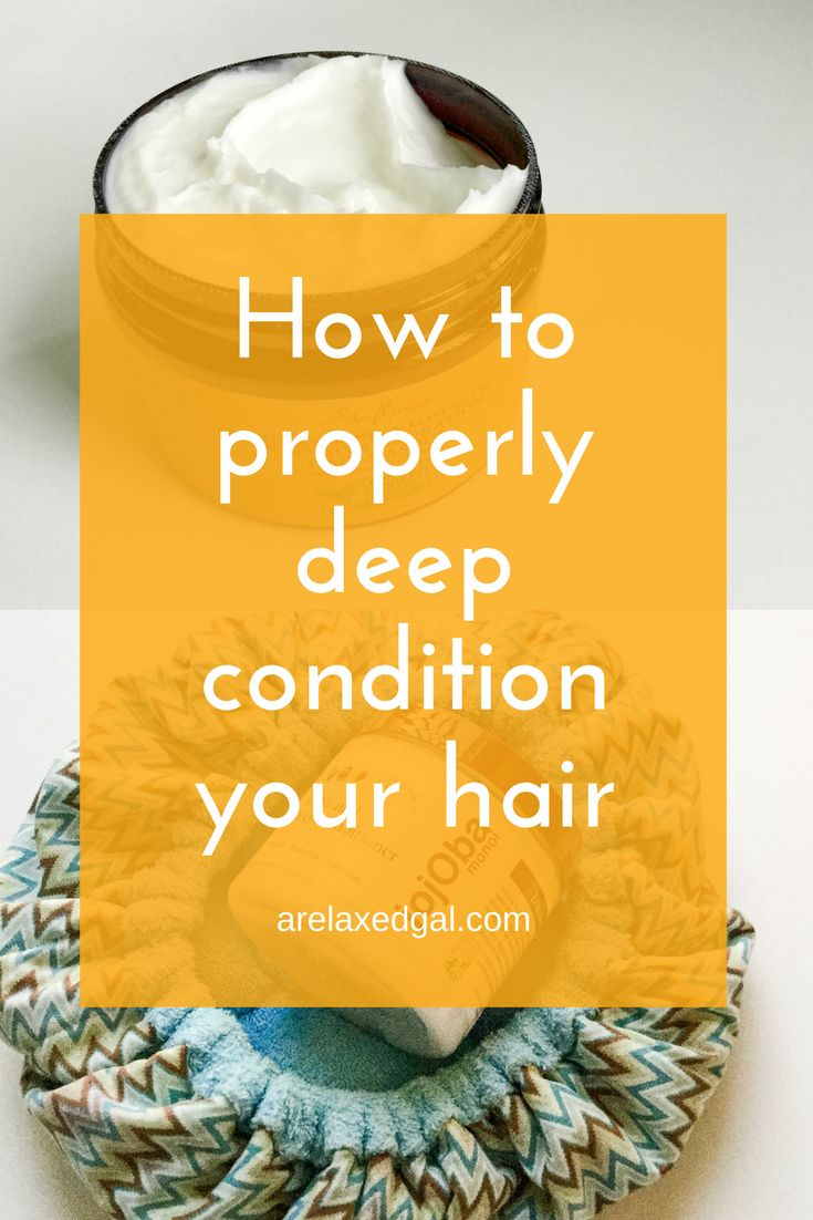 Hair tip: 4 easy steps for deep conditioning your hair. | A Relaxed Gal http://www.arelaxedgal.com/2014/06/hair-tip-how-deep-condition-properly.html