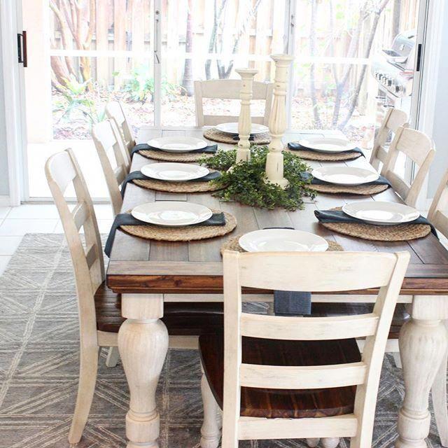 Marsilona Dining Room Chair Set Of 2 Two Tone Diningroom