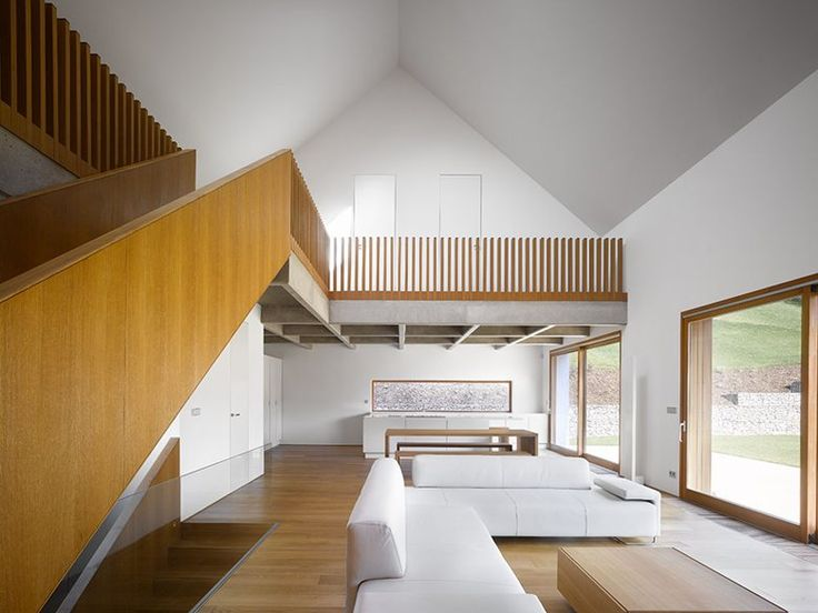 JRA Jaroušek Rochová Architekti's main design concept for Family House in Malá Lhota was to create a building traditional, modest and coherent with the surrounding neighborhood featuring Czech rural architecture #openspace