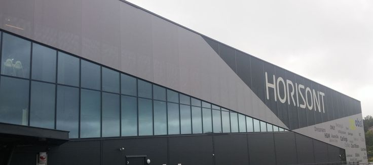 Shopping mall, Åsane, Bergen, Norway Ferrari FT 381 onto FACID 65 profile system