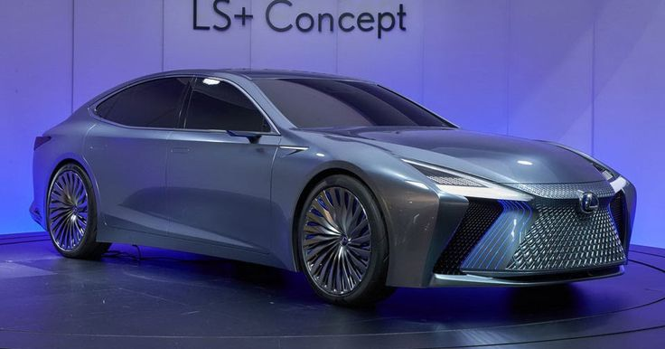 Lexus LS+ Is A Concept Of The 2020 LS Facelift With Autonomous Tech #Concepts #Galleries