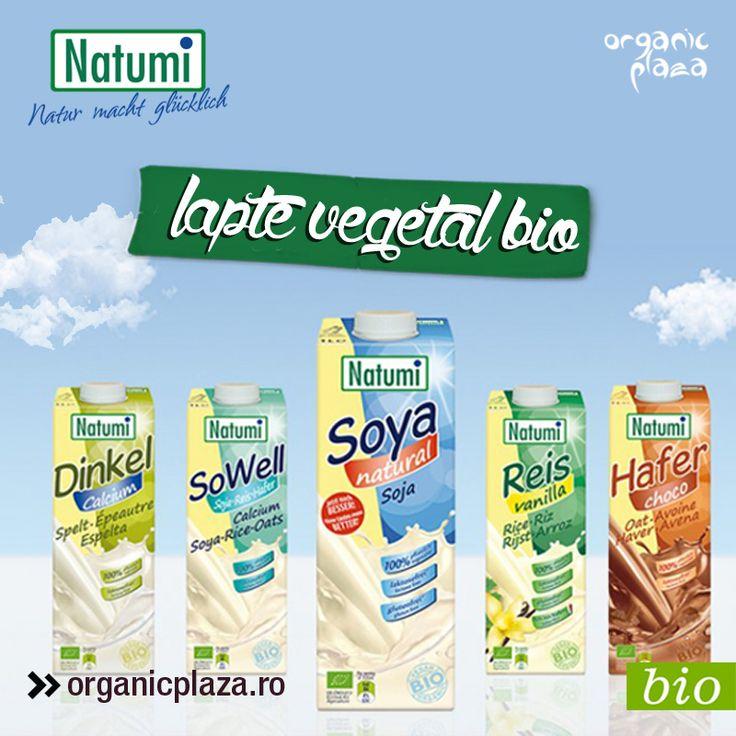 14 sortimente de Lapte vegetal BIO! Descopera-le mai jos: http://organicplaza.ro/natumi