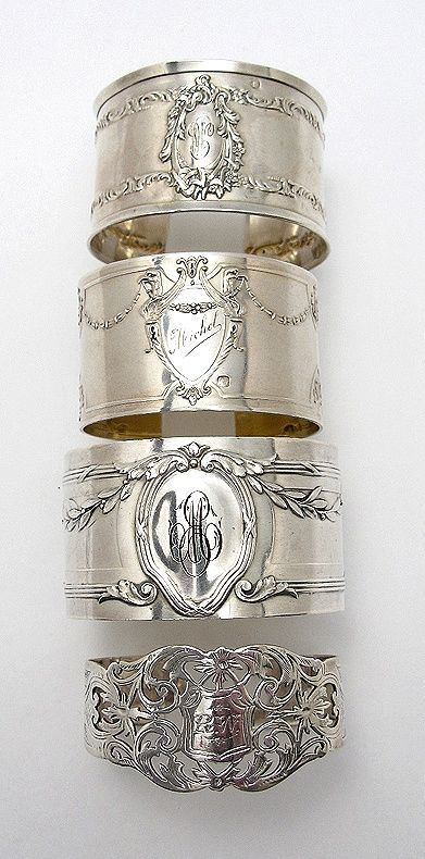 Fun to collect vintage napkin rings #idreamofYORK. I have always wanted one of these rings