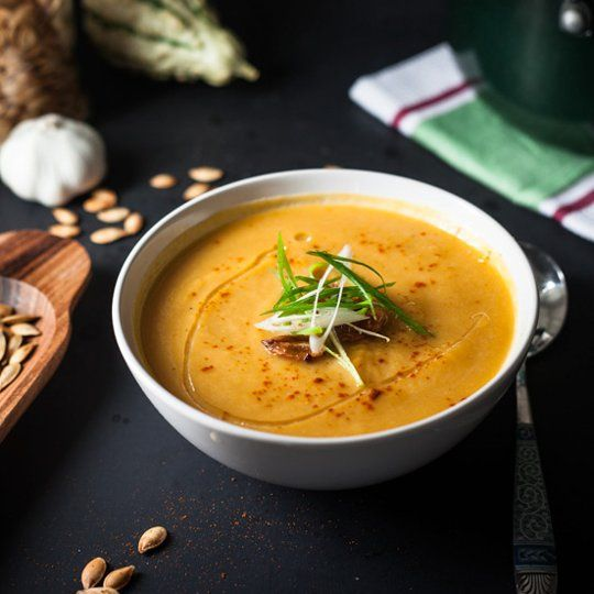 8 Light & Lovely Fall Soup Recipes to Begin Your Thanksgiving Meal