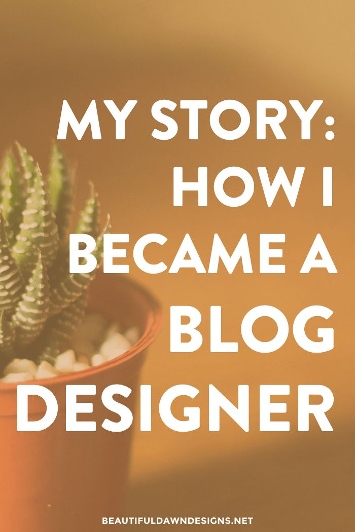 I want to share with you the journey that led me to becoming a professional blog…