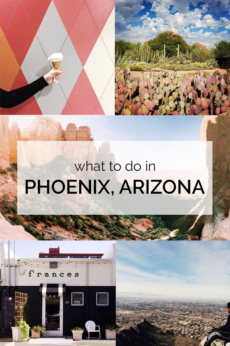Your complete guide to exploring Phoenix, Arizona! Includes what to eat, drink, and do!