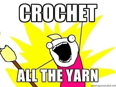 Crochet all the yarn!Crochet Stuff, Crochet Obsession, Crochet Knits Pattern, Funny, Yarns Bombs, Tess Parriott, Nature Bubbles, Crochet Inspiration, Village Nature