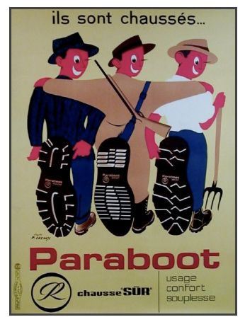Vintage Advertising Posters   Shoes