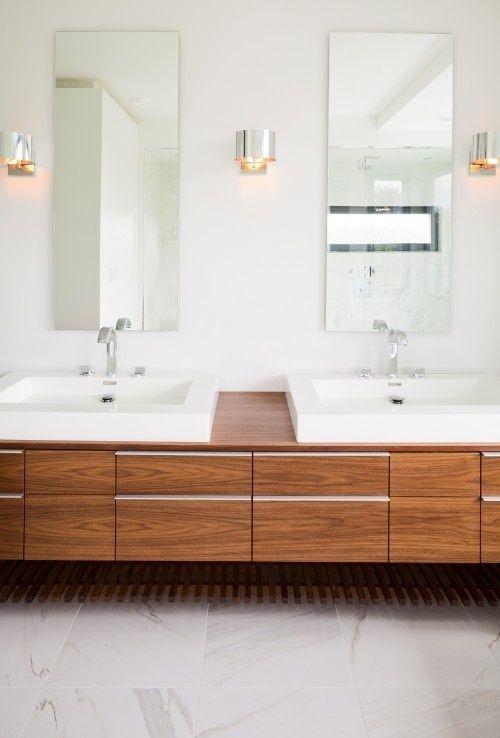 Meuble salle de bain double vasque | SDB | Meuble salle de bain ...