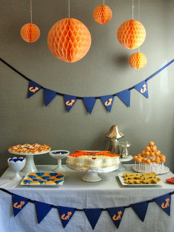 Oleander and Palm: Olivia's Fox Themed 2nd Birthday Party