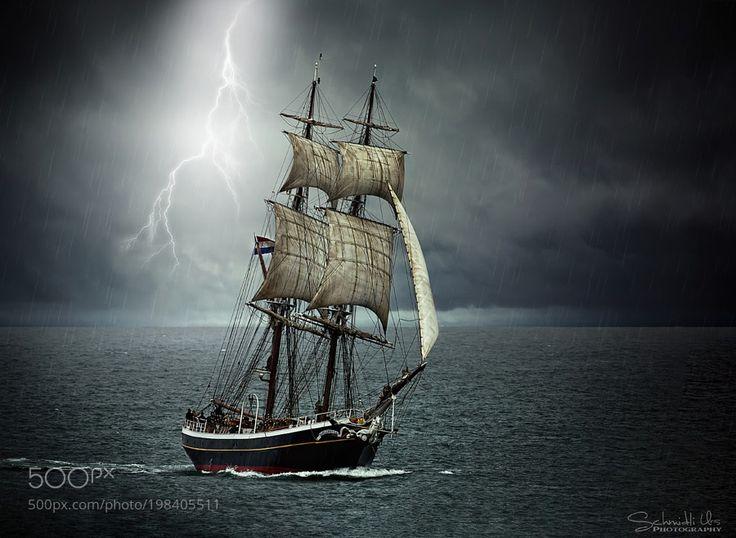 Segelschiff Morgenster by urs-schmidli