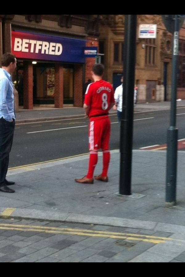 Full kit wankers. The brogues in this shot make it for me
