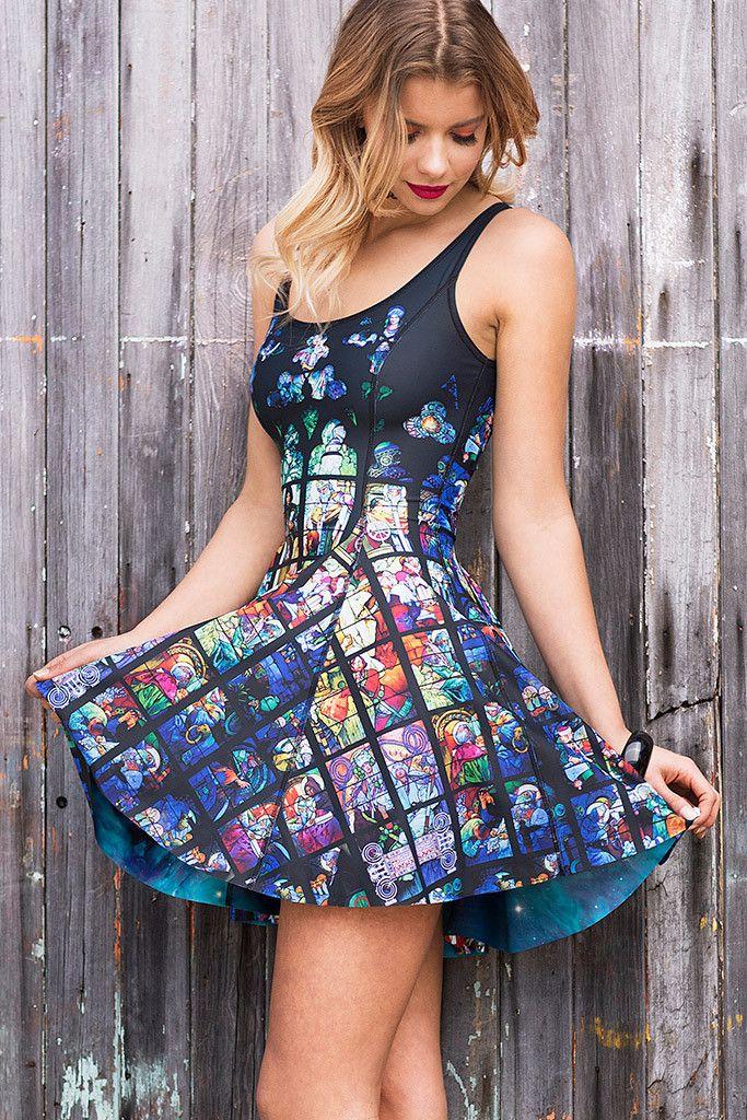 Black milk aurora inside out dress