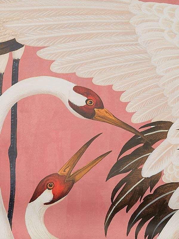 Gucci Heron Print Wallpaper Panels Print Wallpaper Wallpaper Trends Wallpaper Panels