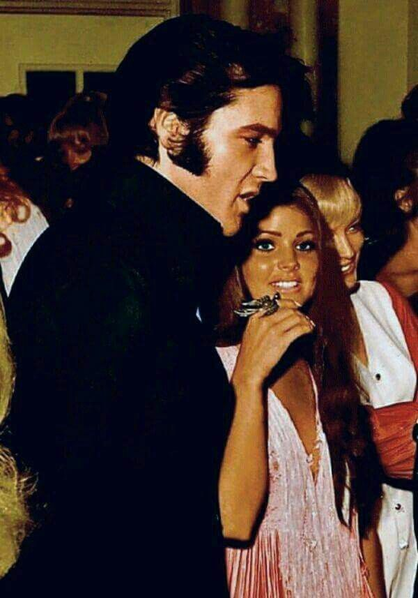 Elvis Presley and Priscila