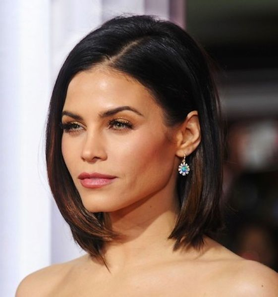 Jenna Dewan-Tatum's Super Sleek and Straight Long Brunette Bob