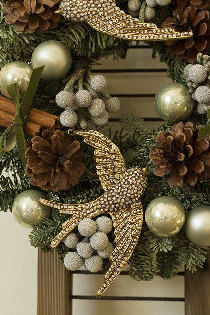 gorgeous Christmas wreath...