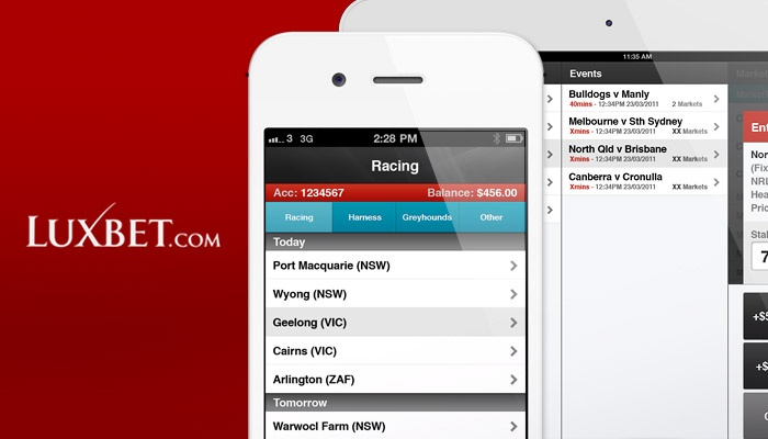 Created in collaboration with AppCast we designed the Luxbet iPhone and iPad apps to bring this online betting service to the iOS/Android platforms. The Luxbet App provides users with a convenient and highly functional means of making bets, checking results and accessing their account. #iPhoneApp #UI #UX