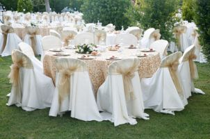 Vintage+Wedding+Reception+Decorations | Best Ideas for Wedding Table Linens | Overstock.com