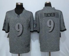 Nike jerseys for wholesale - 2016 Baltimore Ravens 9 Tucker Gray Men's Stitched Gridiron Gray ...