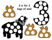 Magnet Page with a Lamb Theme from Making Learning Fun.