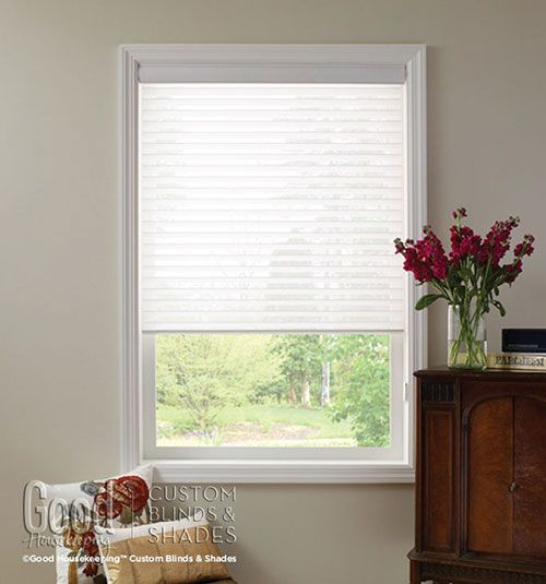 "Good Housekeeping™ Sheer Shades: 3"" Light Filtering"