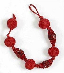 Red Cinnabar Round Beads Bracelet with Red Leather Cord : Jewelry & Bead Projects :  Shop | Joann.comBracelets Ideas, Leather Cords, Jewelry Make Bracelets, Beads Bracelets, Round Beads, Beads Projects, Red Cinnabar, Cinnabar Round, Red Leather