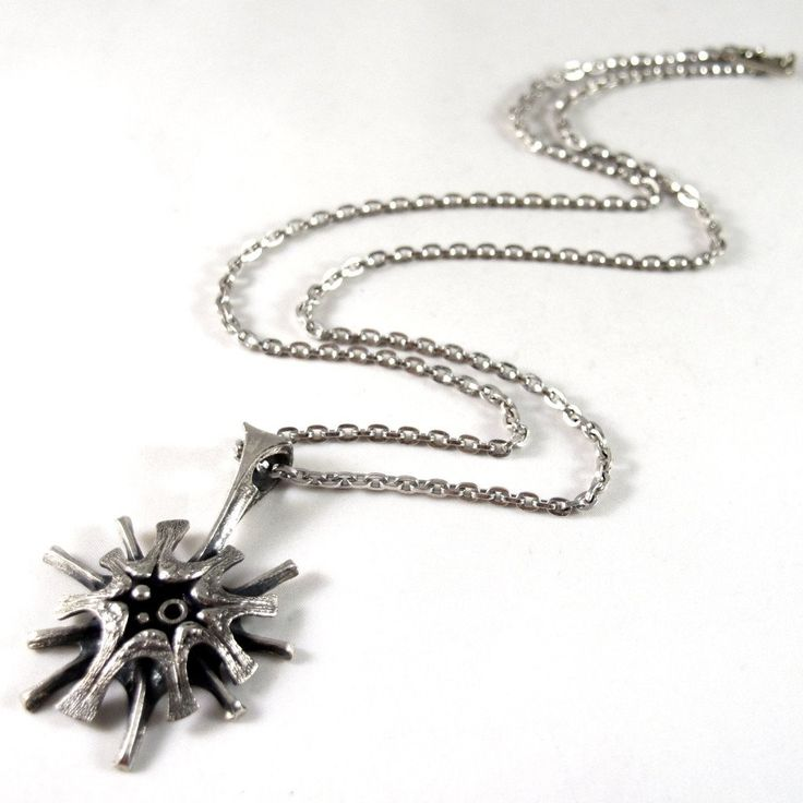 Rare Guy Vidal Super Nova Necklace - Starburst Modernist