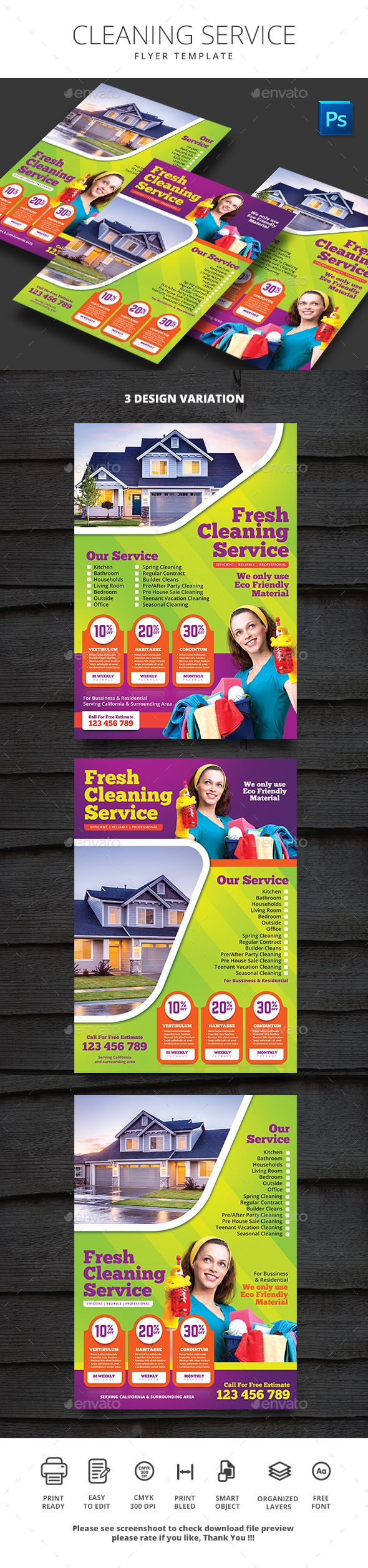 Cleaning Service - Commerce Flyers