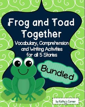 Writing about Frog and Toad