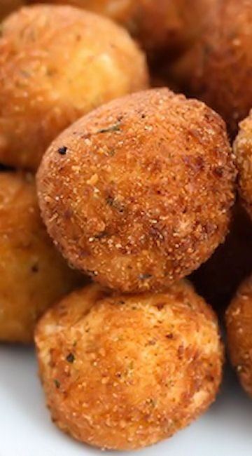 Fried Mashed Potato Balls | Potatoes | Pinterest | Fried mashed potatoes, Delicious appetizers and Food