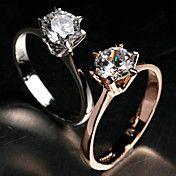 lureme®high kvalitet skiner cz diamantring – SEK Kr. 28