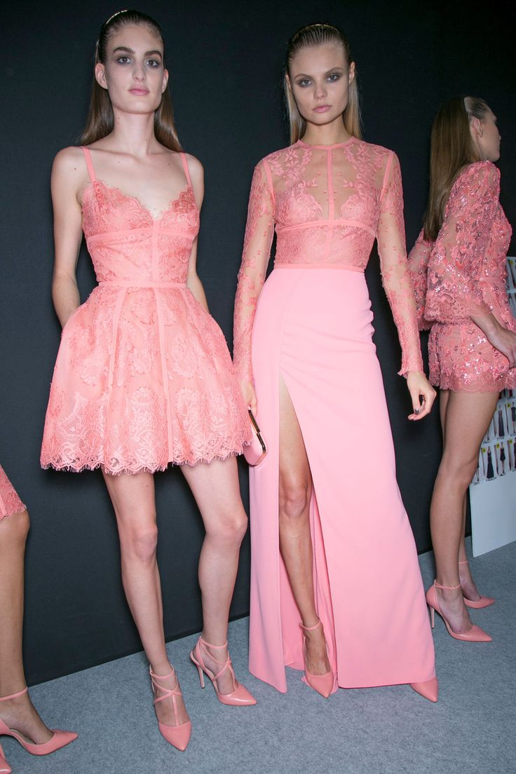 Elie Saab at Paris Spring 2014 (Backstage)