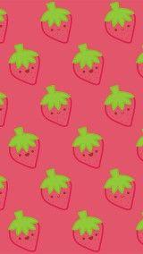 kawaii strawberry wallpaper vintage - photo #37