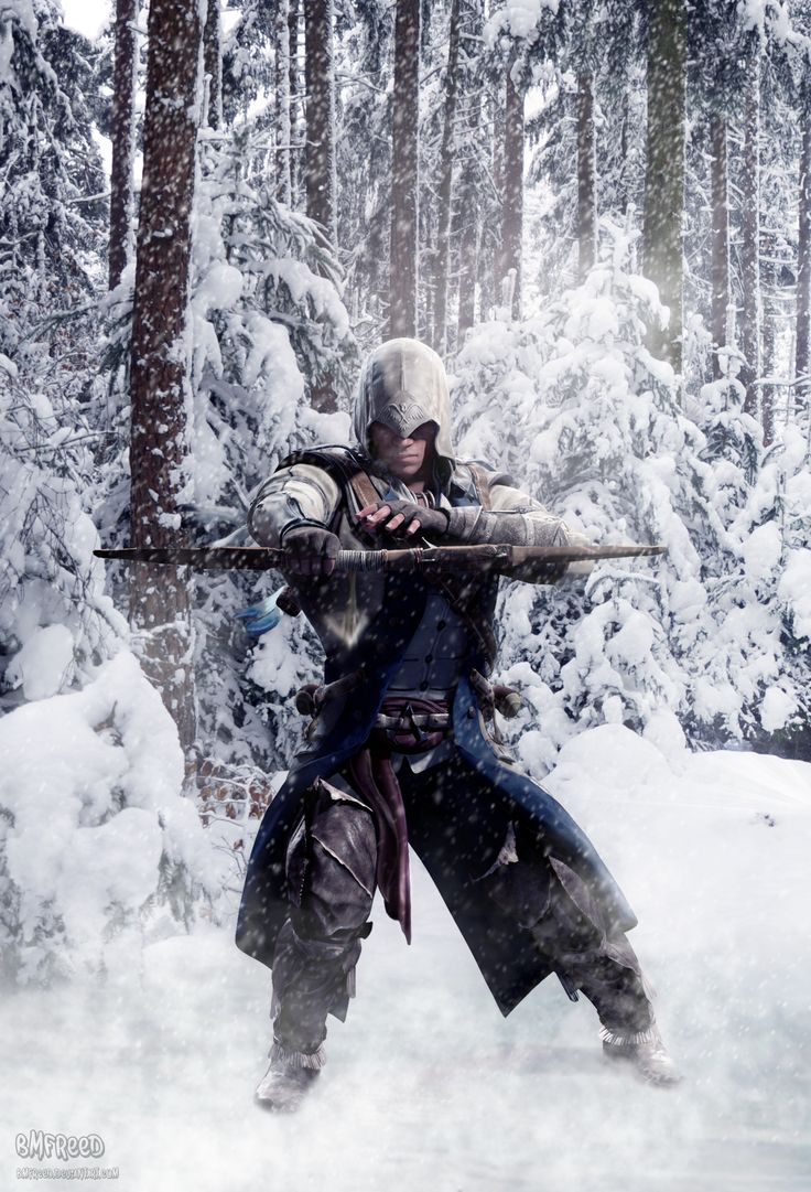 Assassin's Creed: Connor Kenway by BMFreed.deviantart.com on @deviantART