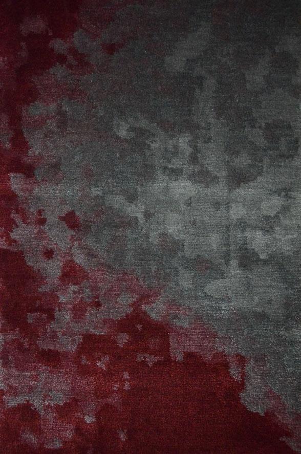 Saint helens rug metropolitan modern rug collection by for Modern grey carpet texture