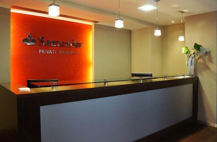 Implantación de nueva imagen en Santander Private Banking