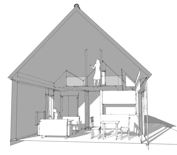 Arkitektens idé, Ladan 82