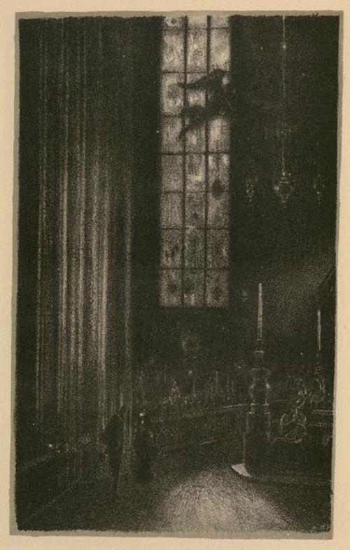 Hugo Steiner-Prag's 1916 illustrations for Gustav Meyrink's Der Golem.