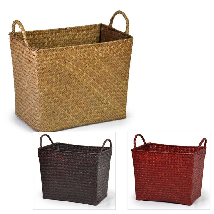 Alexa Sea Grass Utility Basket - Medium Lucky Clover Trading is a wholesale baskets distributor and importer of baskets wholesale through a wholesale gift ...  sc 1 st  Pinterest & 95 best Baskets u0026 Crates images on Pinterest   Bricolage For the ...