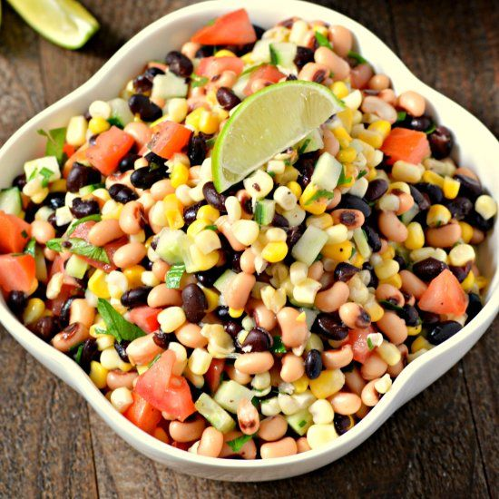 This amazing Texas Caviar Dip is the perfect appetizer that's easy to make and delicious. Is it also vegan, gluten free